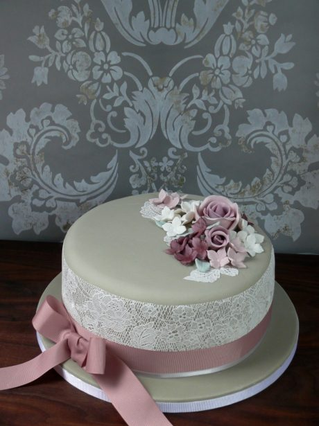Floral Birthday Cake Images