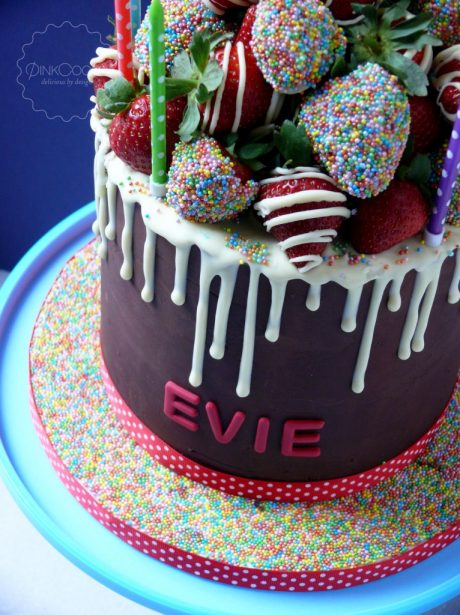 Drip birthday cake manchester
