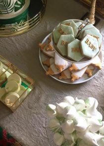 Christening dessert table manchester