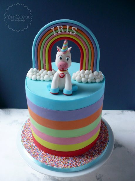 Unicorn Birthday cake manchester