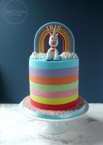 Unicorn Birthday cake manchester
