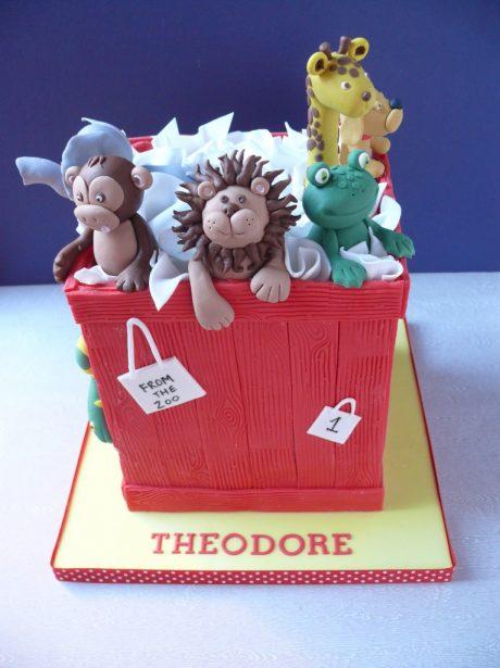 Manchester Birthday Cake